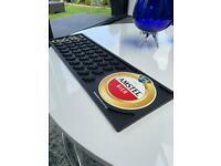 Vintage Amstel Bier / Beer Rubber Bar Runner Man Cave , Home Bar ,