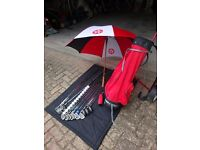 Wilson Snead Golf Clubs, Bag and Trolley for Sale