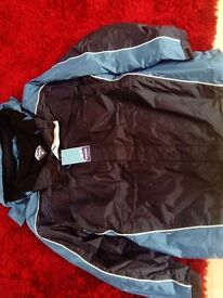 2 Coats by snowdonia brand new and 5 jumpers in different colours all XXL brand new