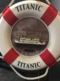 Titanic float souvenirs