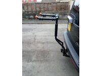 Land Rover bike rack