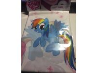 My Little Pony Party Plastic Table cover + 2 pack LOOT BAGS **Free Postage**