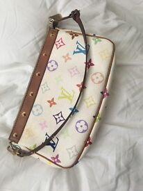Authentic Louis Vuitton handbag & matching coin purse
