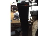 Intempo Large Bluetooth Tower Speaker with Disco Light