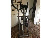 Cross Trainer. confidence fitness. Grey white, very good condition. Move forces sale.