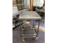 Stainless Steel Table (Width:82cm Length:70cm Height:105cm)