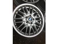 Alloy rims BMW