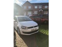 Vw polo white