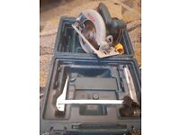 Bosch GKS190 Circular Saw 190mm Hand Held With Carry Case 110V