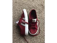 Adidas Nizza trainers - kids size 8