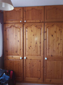 Solid Pine Wardrobes and Chest of Drawers