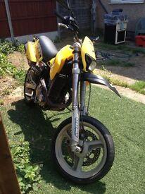 Motor bike ccm 644 enduro