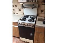 Old fashioned cooker oven and hob freestanding - free