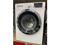 8KG WHITE/CHROME BEKO WASHING MACHINE GRADED NOT USED
