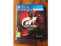 Gran tourismo sport PlayStation 4 PS4