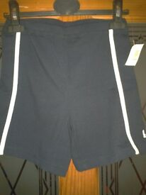 New Ladies LA Gear sports gym yoga shorts Black Size 10