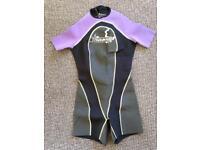 New Short sleeve wetsuit