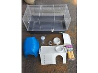 Large pet cage & accessories