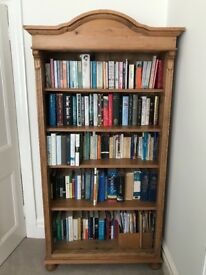 Large Solid Pine Bookcase