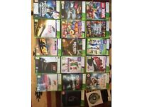 Xbox 360 Elite With Kinect And 17 Games