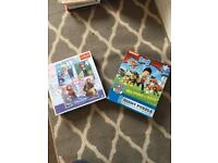 Children's jigsaws - 4 in 1 Frozen and Giant Paw Patrol (