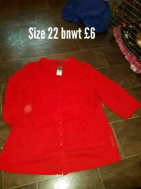 Womens Size 22 Top