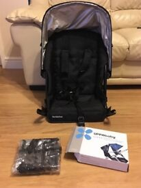 Uppababy Vista 2014 Rumble Seat and raincover