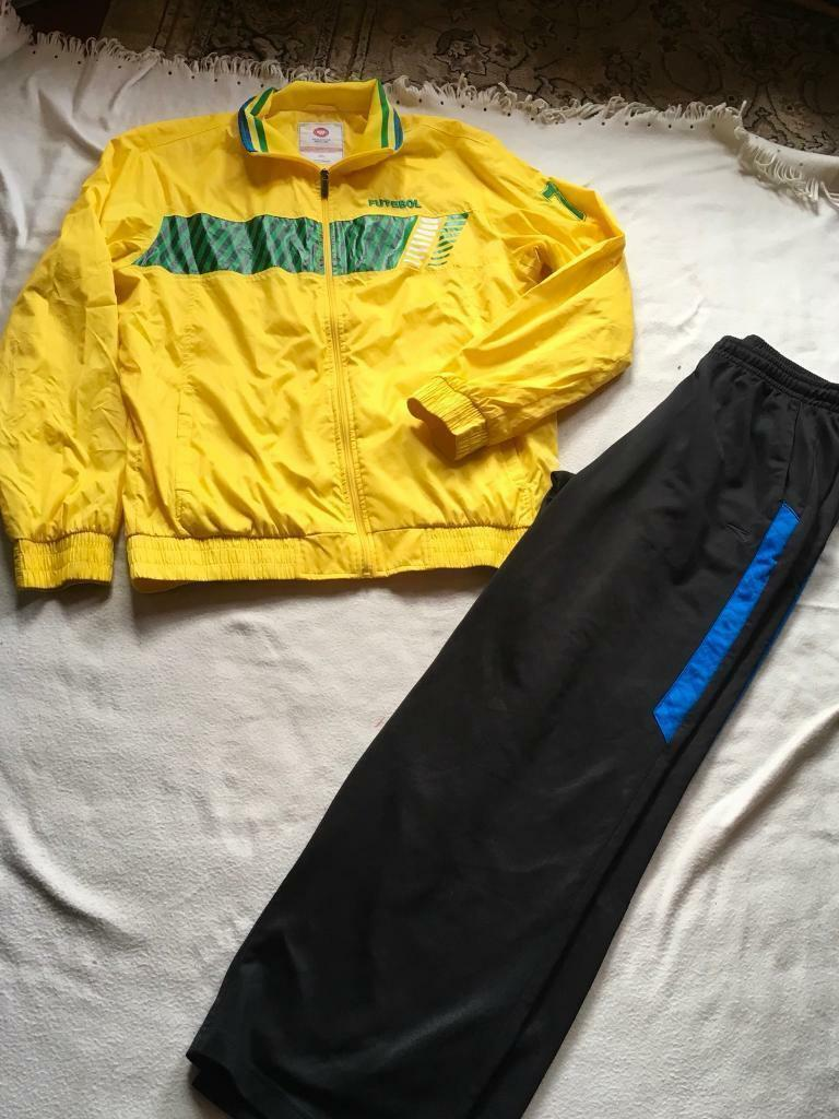 Anta Soccer Mens Tracksuit Set Size 4xl Used One Time Ex Condition