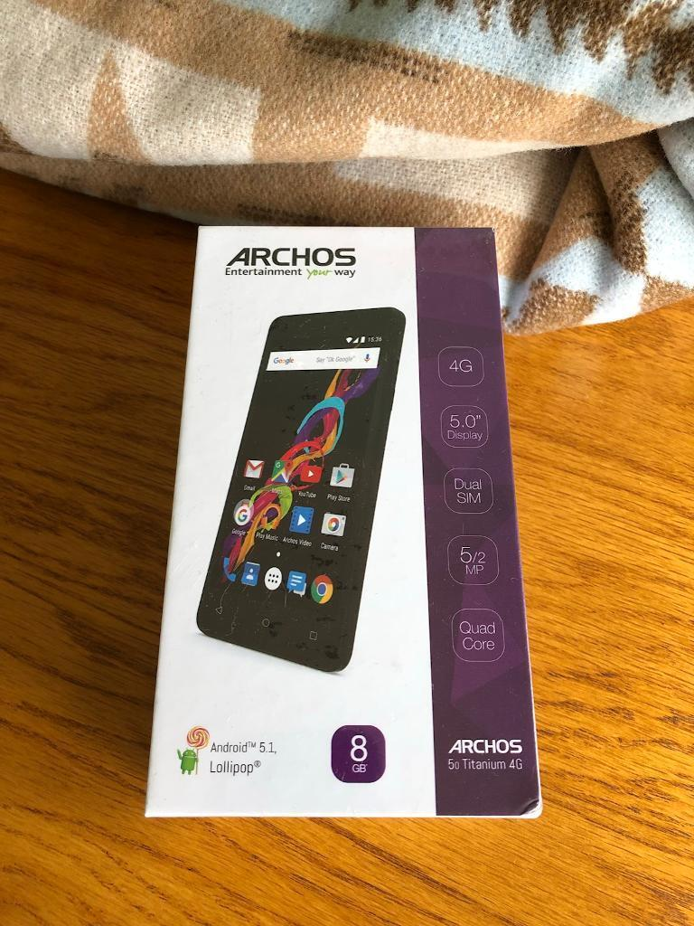 Archos 4G smartphone BRAND NEW