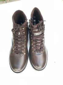 Muya Turkish Comfort Leather Brown Boots UK Size 10