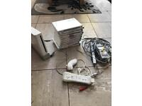 Wii with 11 games and all cables + remote&nunchuck