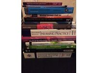 Nursing books assorted