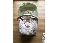 fisher price gliding baby chair