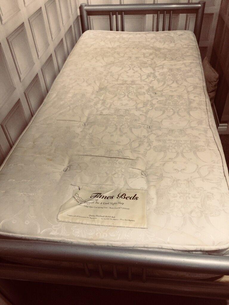 Metal Frame Single Bed For Sale In Downend Bristol Gumtree