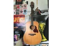 CRAFTER D6 semi acoustic guitar