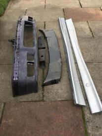 E36 mtech m sport m3 bumper twisted side skirts and rear wing