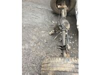 Ford transit 2.4 rear axles x3