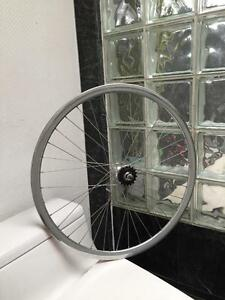 BRAND NEW SINGLE SPEED / FIXED GEAR REAR WHEELS - CHROME