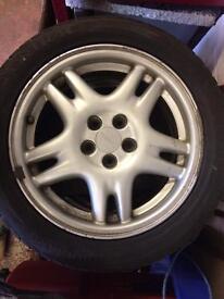 Subaru alloy wheels