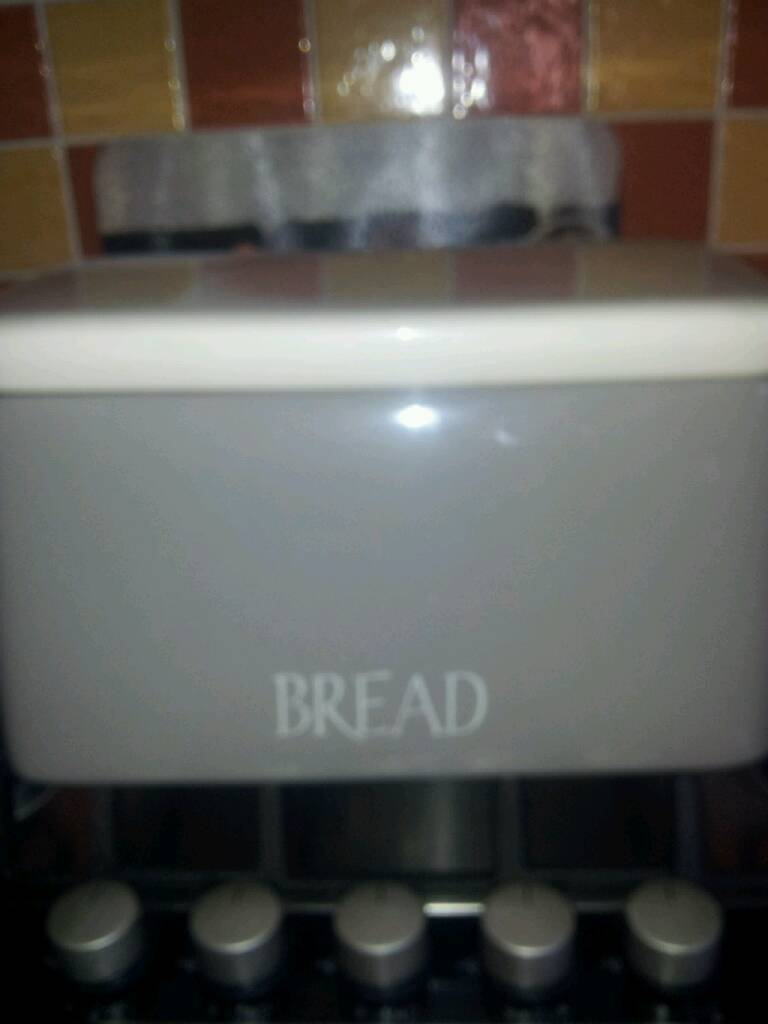 Neutral colour bread bin
