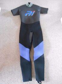 Unisex wetsuit size M
