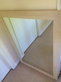 LARGE WOODEN MIRROR COLLECTION CHORLEY