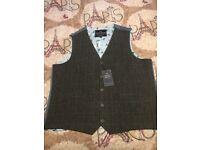 Grey waistcoat size 48 R