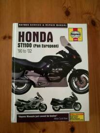 Honda ST1100 Haynes Manual
