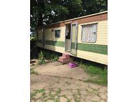 Lovely static caravan sadly for sale