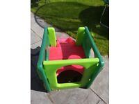 Little Tykes Cube slide, green