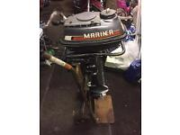 Outboard mariner boat engine (classic)