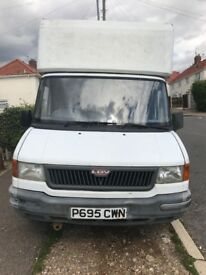 LDV LUTON VAN with Tail lift for Sale. 9 month MOT