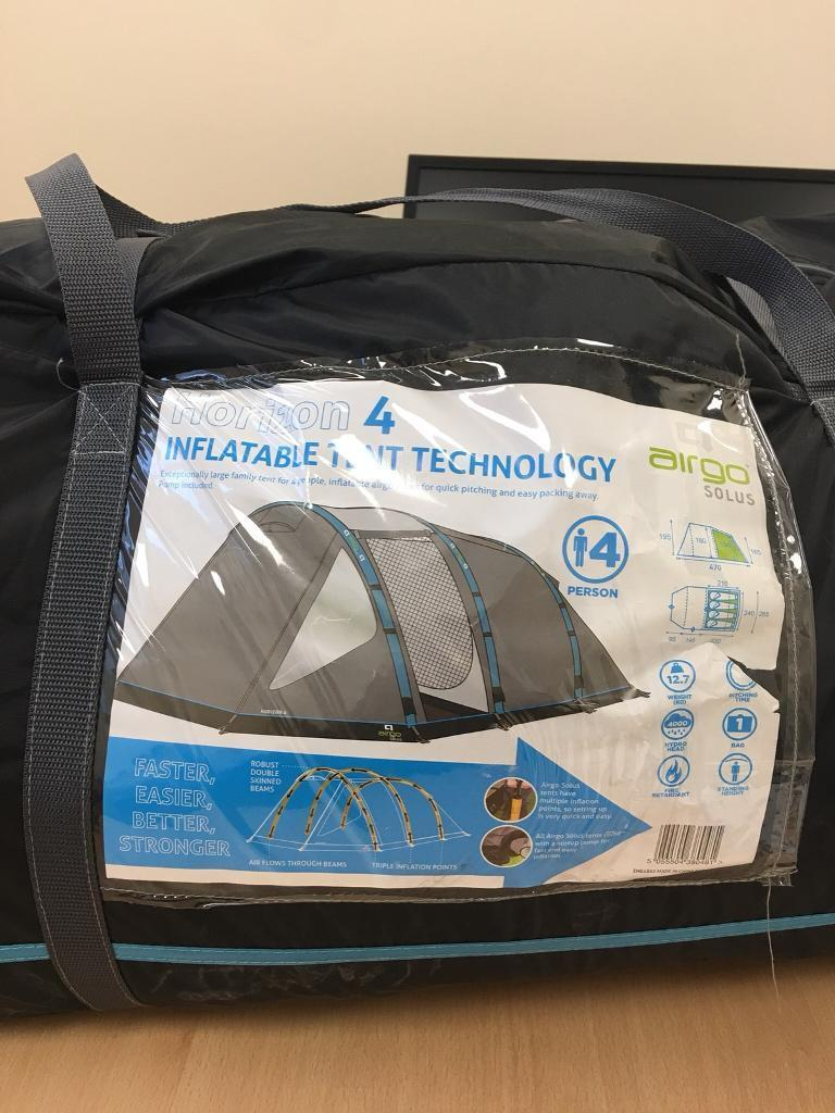 Camping package, used once