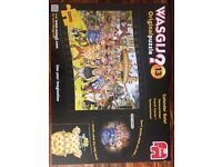Wasgij Mystery Jigsaw Puzzle: No 4-; No 13; No 22. And traditional Jigsaw Puzzle